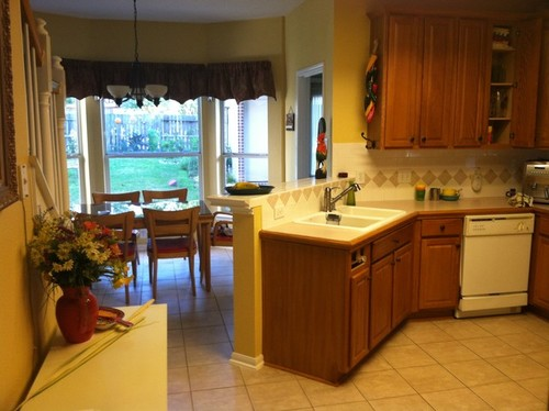 Kitchen Counter With Sink Breakfast bar or counter height behind sink workwithnaturefo