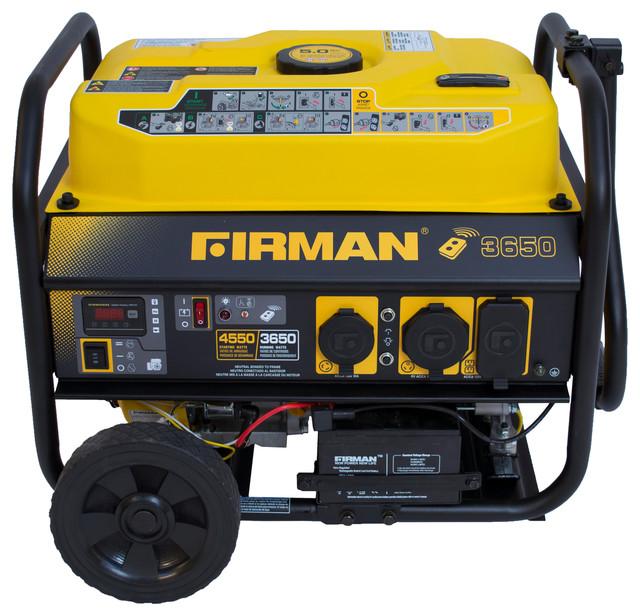 Firman Power Equipment Firman Gas Powered 3650 4550 Watt
