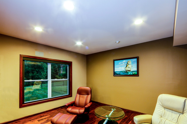 LED Recessed Ceiling Lighting - Traditional - Living Room - St Louis ...