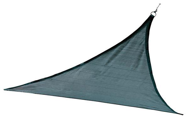 Shadelogic Sun Shade Sail Heavy Weight Triangle, Sea Blue, 16&x27;.