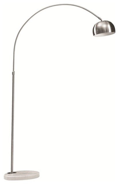 Lemoderno fine mod imports arch lamp small base black view in fine mod imports arch lamp small base white floor lamps mozeypictures Image collections