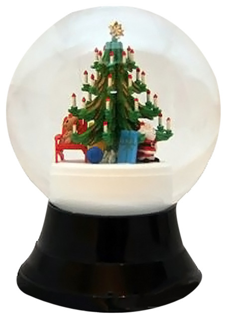 Perzy Snowglobe, Large Christmas Tree.