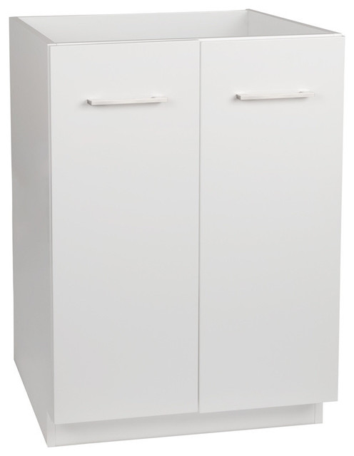 Ronbow 24 Arden Eco Friendly Bathroom Vanity Cabinet Base Glossy White