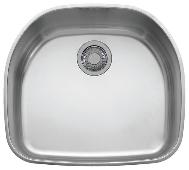"20""x22""x9"" Franke Prestige Steel Kitchen Sink, Stainless Steel, Pcx1102109."