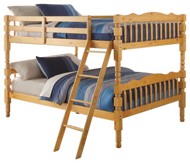 Full/full Bunk Bed, Natural.