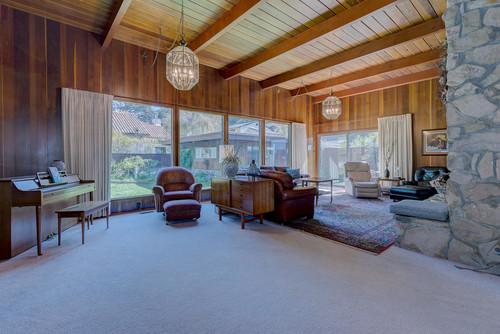 Wood Paneling Room  How To Make More Modern, Lighten It Up?