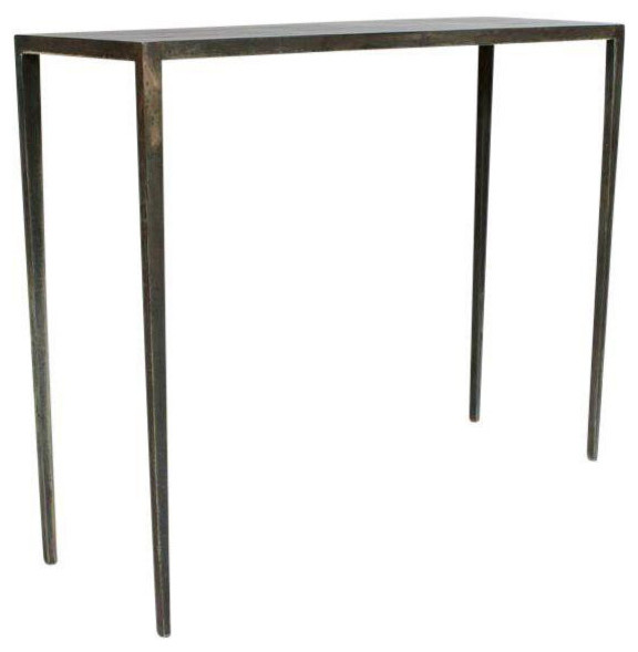 Iron Console Table : industrial console tables from www.houzz.com size 576 x 589 jpeg 30kB