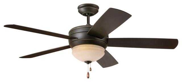Summerhaven Ceiling Fan, Golden Espresso.