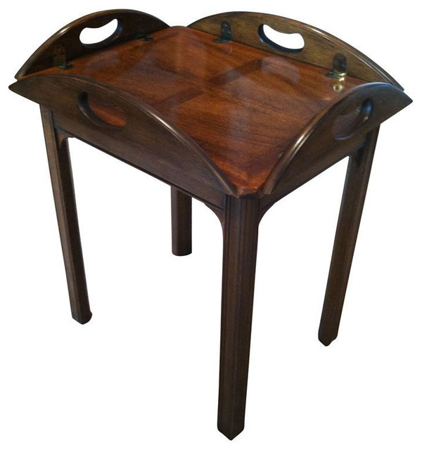 Butlers Table By Baker Furniture Co.   $1,200 Est. Retail   $250 On Chairish