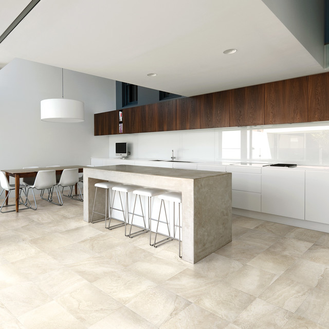 Kitchen Tiles Perth stone look tiles - eco alabaster grigio - contemporary - kitchen