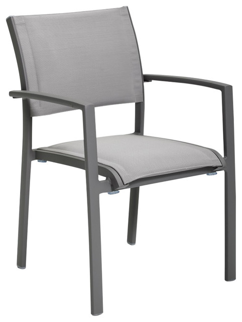 The Kegan Patio Arm Chair Outdoor Indoor Contemporary Outdoor Lounge Ch