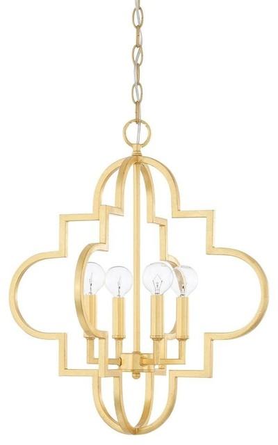 Capital Lighting 4-Light Pendant.