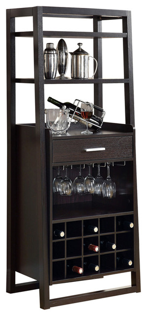 Ladder-Style Wine Rack - Cappuccino
