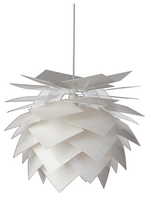 Illumin Desert Pendant Lamp, White, Large