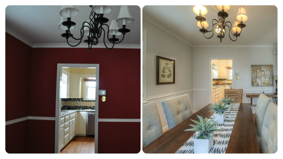 Before and After: Dining Room