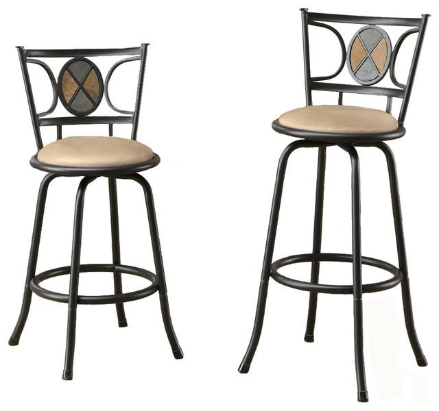 Miraculous Metal Adjustable 24 29 Microfiber Seat Swivel Pub Stools Mosaic Set Of 2 Dailytribune Chair Design For Home Dailytribuneorg