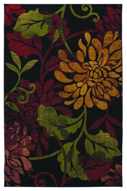 Mohawk Home New Wave Canberra Crimson Area Rug 5 X8 Contemporary