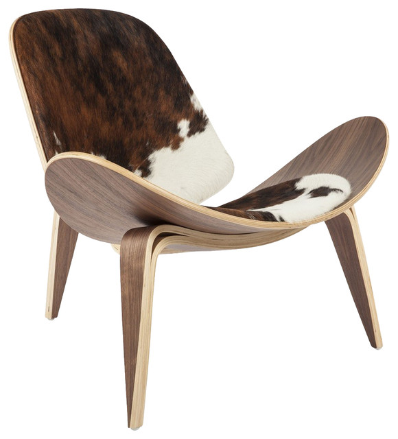 Stilnovo Bent Plywood Cowhide Keaton Chair