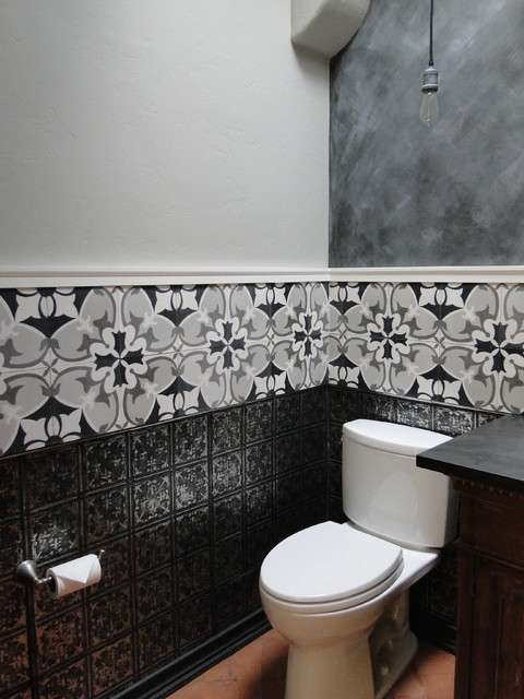 Half Bath Remodel Transitional Powder Room Half Bath Remodel Transitional Powder Room Other