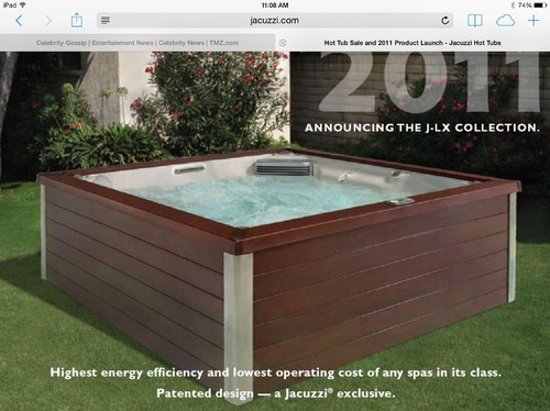 which exterior color do you like on hot tub - Jacuzzis Exterior