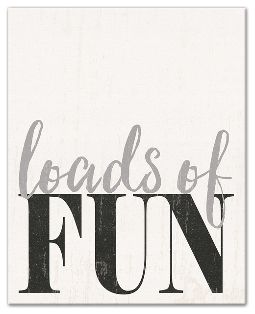 Loads Of Fun Laundry Room Wall Art Contemporary Novelty Signs By Designs Direct