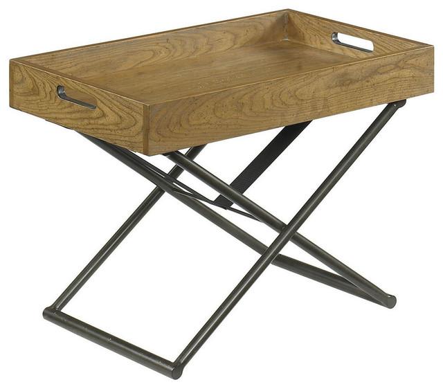 Coffee Table Converts To Tv Tray: Hammary Hidden Treasures Adjustable Tray Table