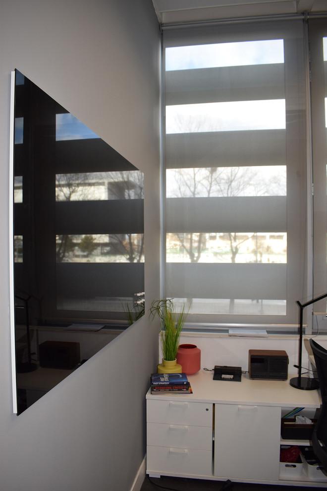 Revestimiento de vidrio rotulable y magnético