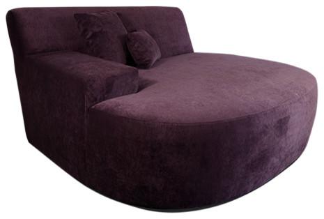 decenni custom furniture decenni ampio lounge chair sofa purple indoor chaise lounge chairs