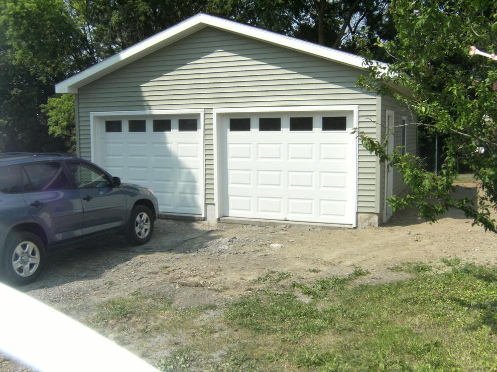 Craftsman Style 2 Car Garage Design Build