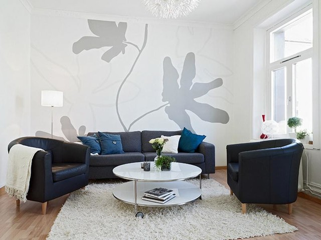 Flower Wall Sticker to decor living room Wall