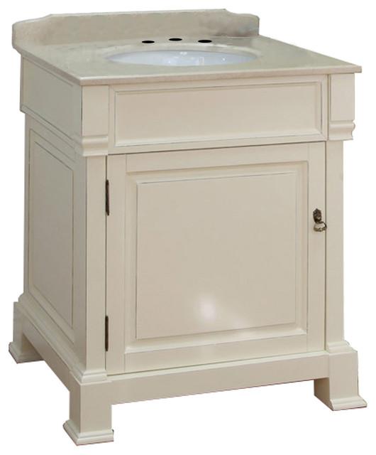 30 Single Sink Vanity Wood Transitional Bathroom Vanities And Sink Consoles By