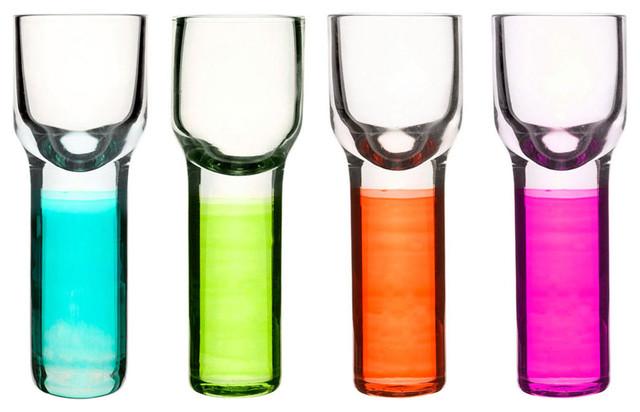 Sagaform Club Schnapps Glasses, 4-Piece Set