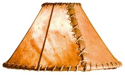 Rawhide 20 Quot Floor Lamp Shade Rustic Lamp Shades By