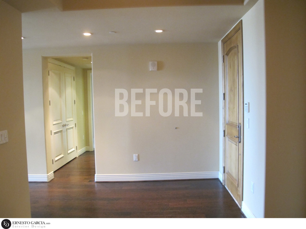 FOYER & HOME OFFICE - BEFORE