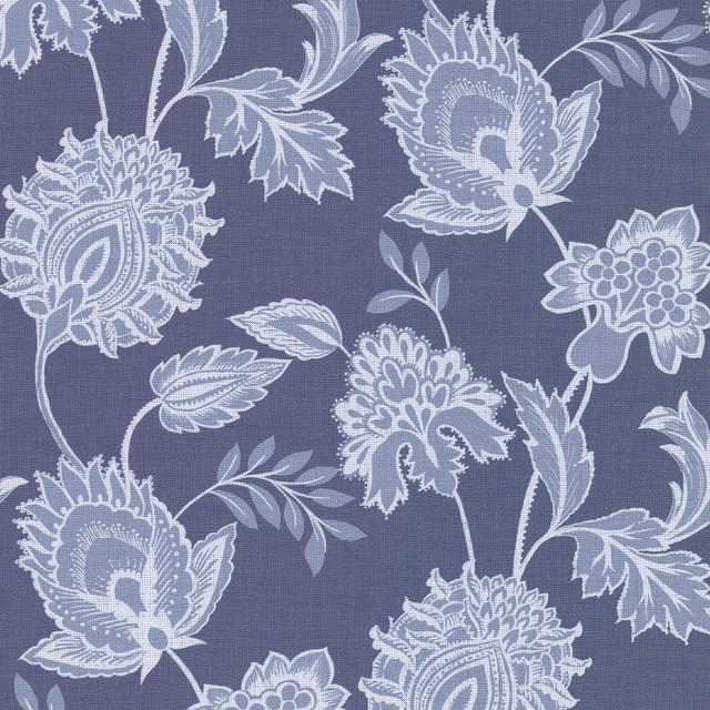 Danfi Blue Jacobean Wallpaper Bolt