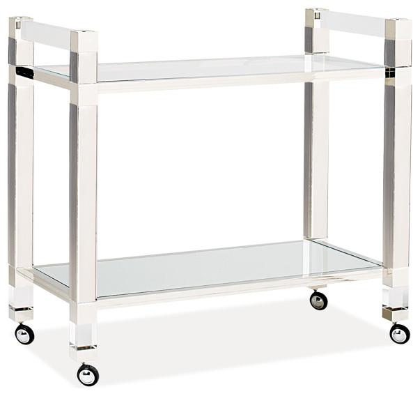 Cosmopolitan Bar Trolley - Contemporary - Bar Carts - by ...