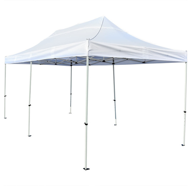 Sunnydaze Quick-Up Instant Pop-Up Canopy Party And Wedding Tent, 10x20.
