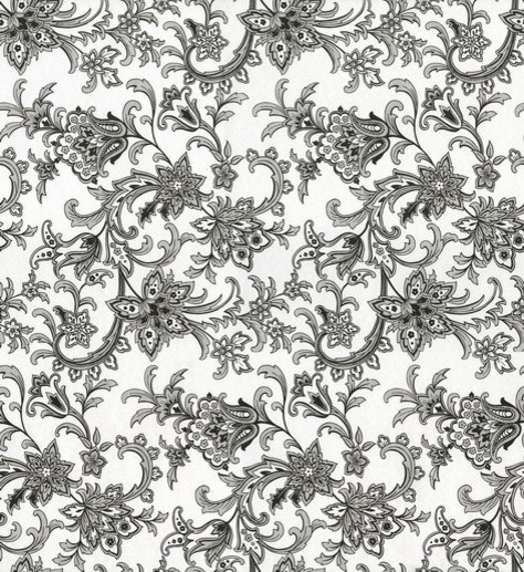 Athena floral wallpaper traditional wallpaper by wallpaper athena floral wallpaper black and white mightylinksfo