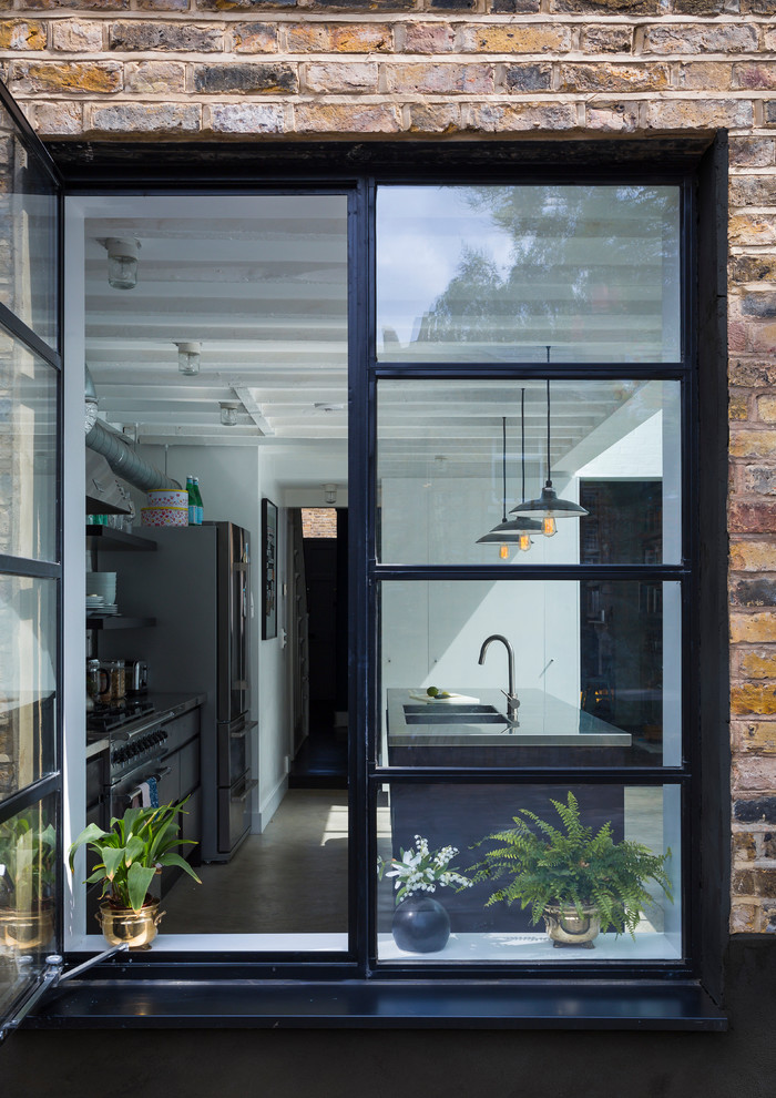 This is an example of a contemporary home in London.