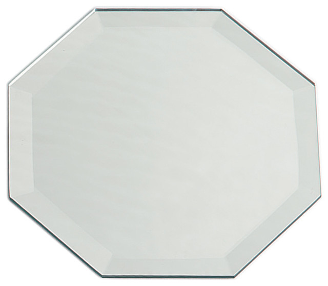 octagon bathroom mirror octagon bevel mirror 12 quot x18 quot traditional bathroom 13837