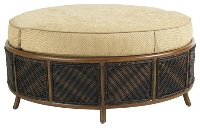 Stupendous Tommy Bahama Island Estate Lanai Patio Storage Ottoman Beige Ocoug Best Dining Table And Chair Ideas Images Ocougorg