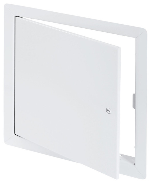 """General Purpose Access Door with Flange, High Quality White Powder Coat, 18""""x18"""""""