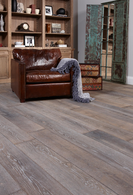 Northern Wide Plank Floor Shades Of Gray Traditional Toronto