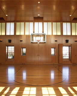 Private indoor basketball court for Personal basketball court