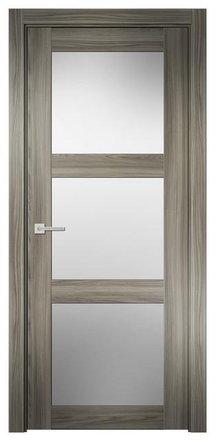 Sarto doors sarto prio ns 7232 interior door ginger ash for 18 inch interior glass door