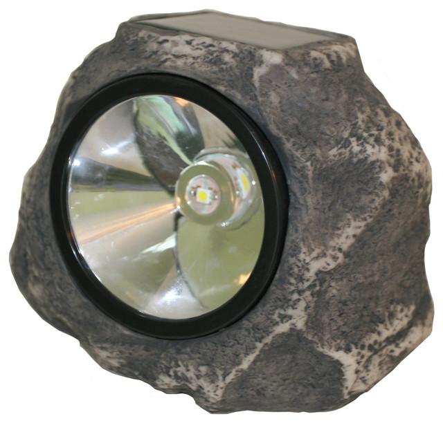 Solar Rock Light Modern Outdoor Lighting By Shop Chimney