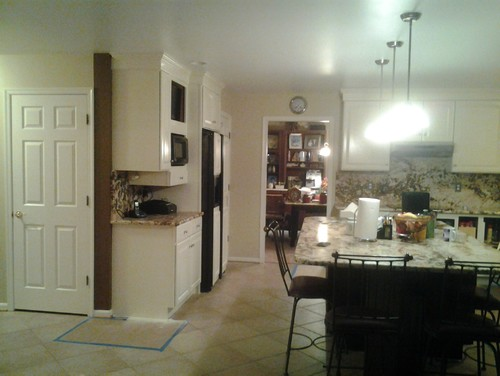 should i paint the trim in my kitchen the same color as