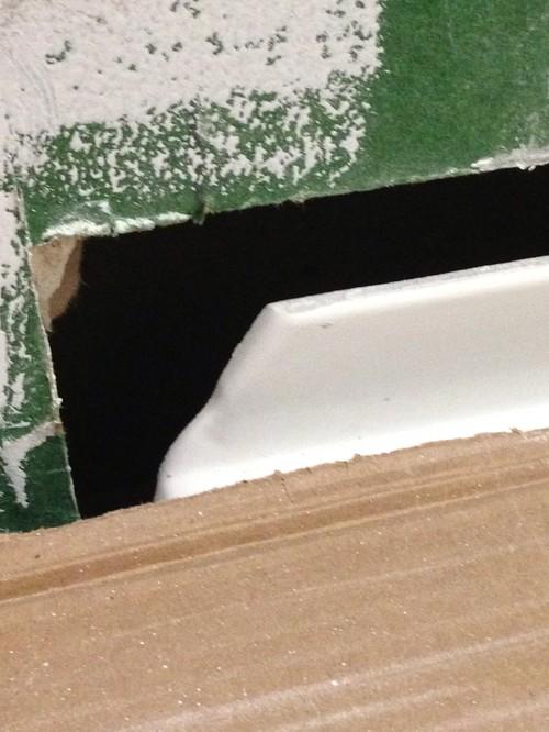 Gap Between Tub And Drywall