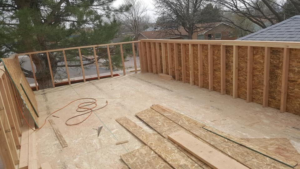 Custom Deck and Porch Project