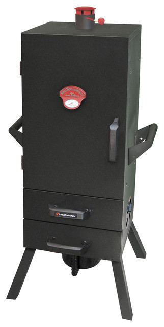 "34"" Charcoal Easy Access 2 Drawer Vertical Smoker."